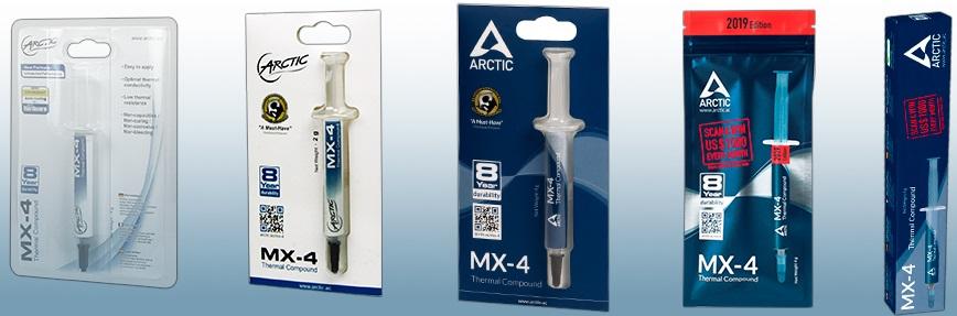 Термопаста Arctic MX-4